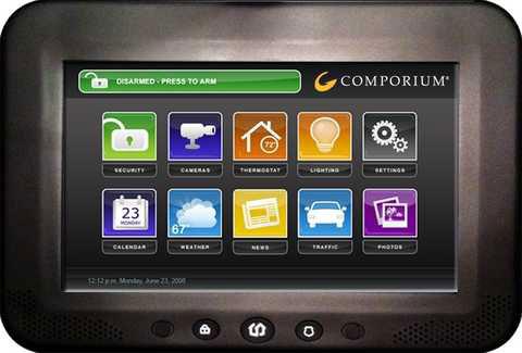 uControl Touchscreen