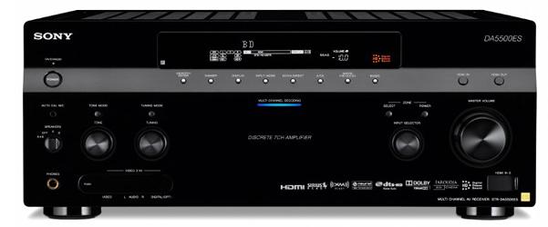 Sony's new IP Network Control AV Receiver: STR-DA5500ES ...