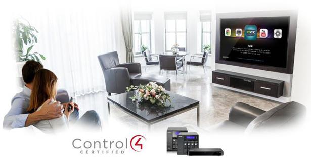 qnap and control4